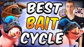 NEW BARBARIANS CAN'T BE STOPPED! Best Barbarian Bait Deck  — Clash Royale