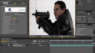 After effects урок 6: Замена заднего фона (Andrew Kramer)