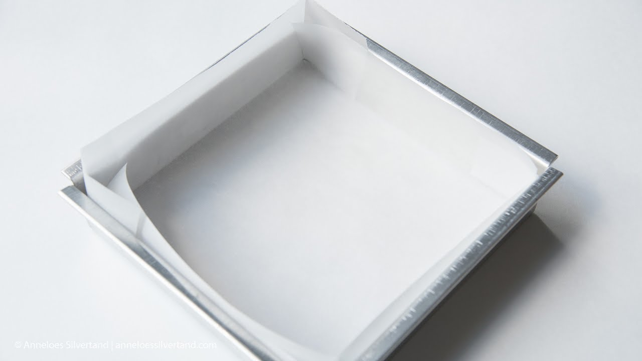 How to Line a Square Baking Pan
