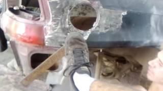 сварка кузова электродом(ремонт от безысходности, опель астра ф, гнилая арка Этот ролик обработан в Видеоредакторе YouTube (http://www.youtube...., 2016-08-01T11:49:02.000Z)