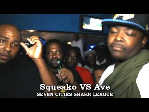 7 CITIES SHARKS PRESENTS::AVE VS SQUEAKO::9.15.12::CITY OF S