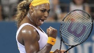 Serena Williams VS Maria Sharapova Highlight Brisbane 2014 SF
