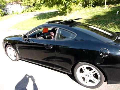 2006 Hyundai Tiburon GT Limited 2dr Hatchback (2.7L V6 5M) 79k - YouTube