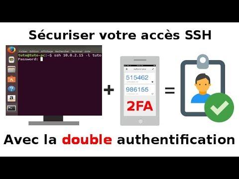 Double authentification 2AF pour serveur SSH Linux