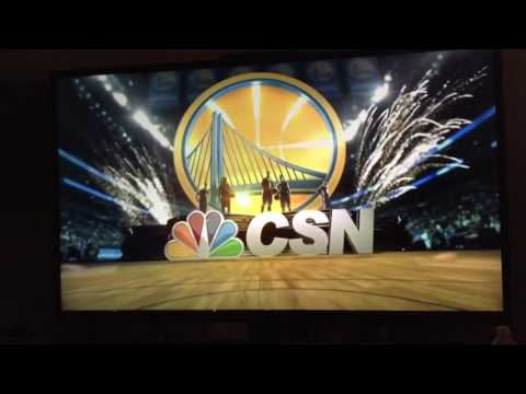2015-16 Golden State Warriors Intro on ComcastSportsNet Bay Area