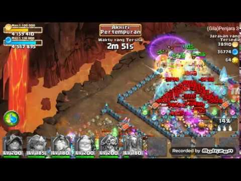 Insane Dungeons 3.6 F2p. Castle Clash