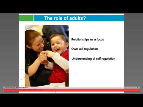 Webinar: Early Childhood, Self Regulation and Mental Health–What Can You Do?