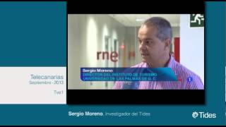 Sergio Moreno, Investigador del Instituto Tides en Telecanarias de TVE