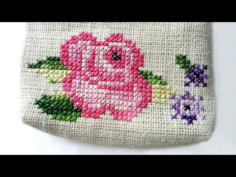 How To Create A Cross Stitch Flower Pattern - DIY Crafts Tutorial - Guidecentral