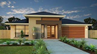 Diseño de casa de una planta con planos