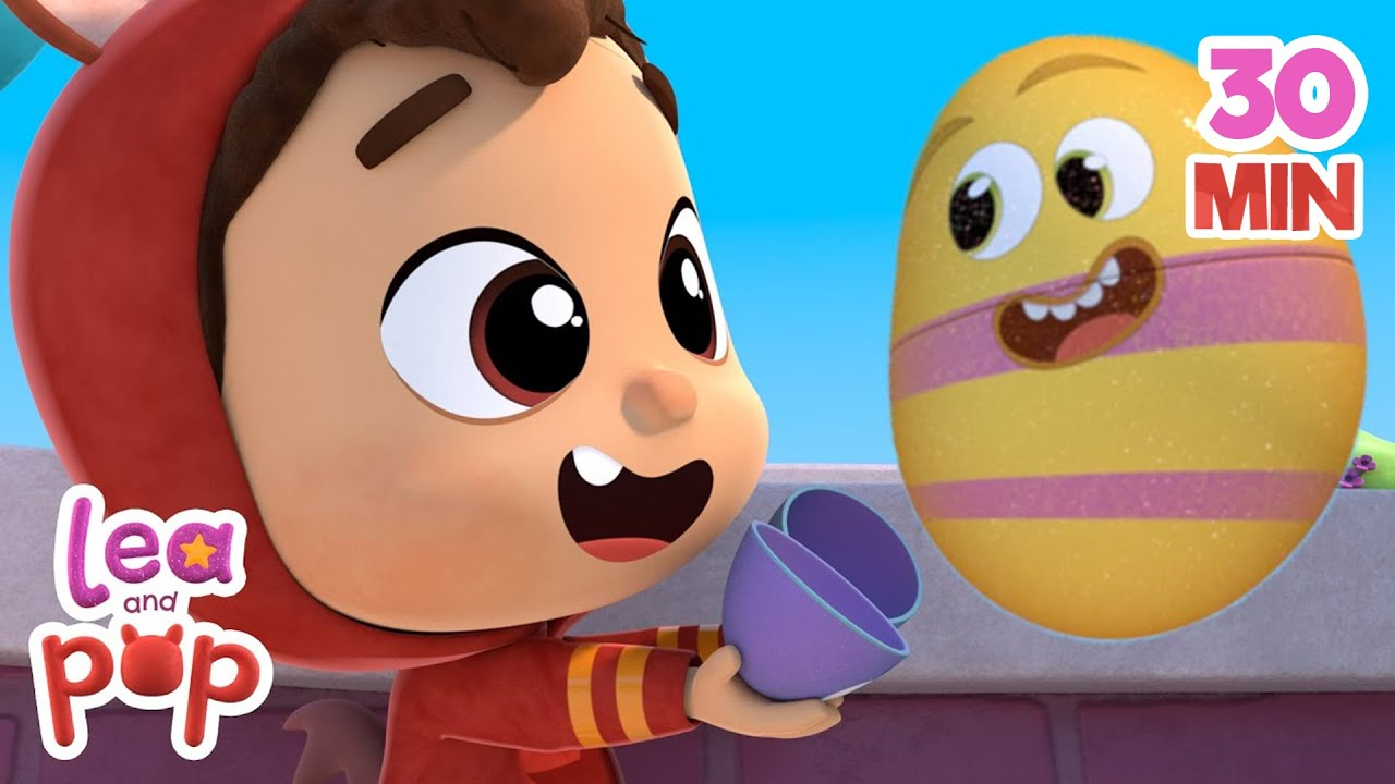 Humpty Dumpty - Lea and Pop Nursery Rhymes and Children`s Songs