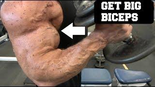 3 Quick Tips To Get HUGE Biceps (Ft. John Meadows)