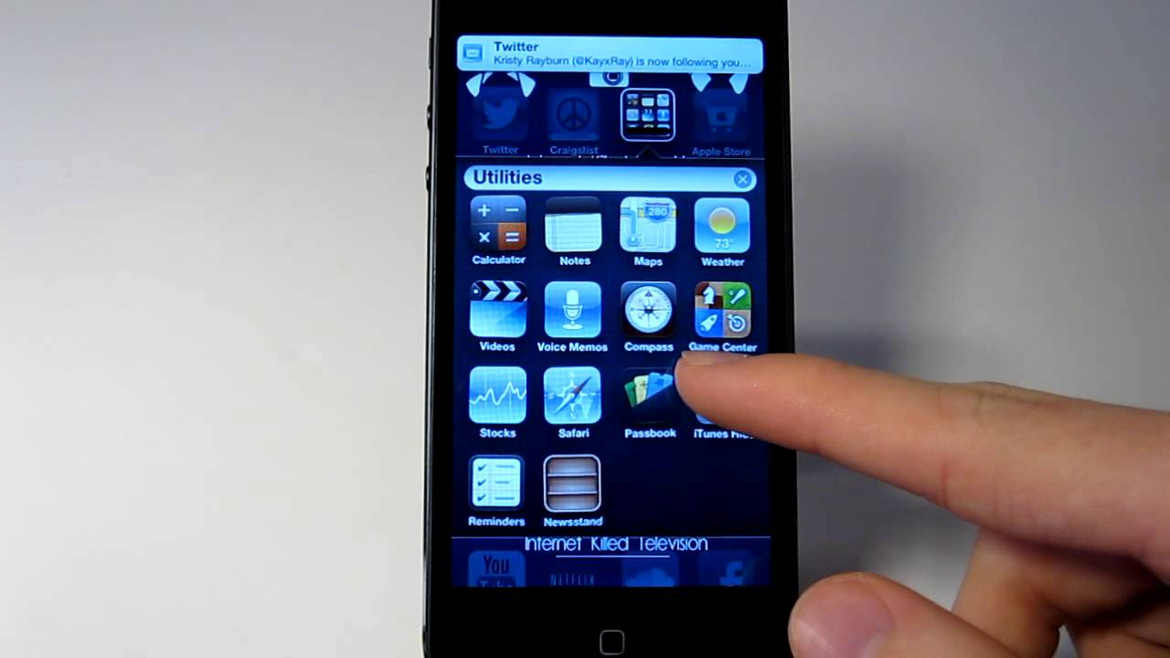 how to hide apps on iphone how to hide stock ios apps on ios 6 iphone 5 without 18874