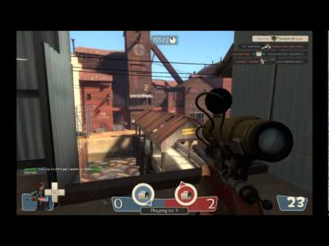 TF2 Sniper Gameplay #3 - Accused of Hacking