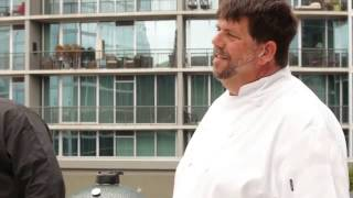 Atlanta Food and Wine Cooking Demo. Chefs Kent and Kevin Rathbun