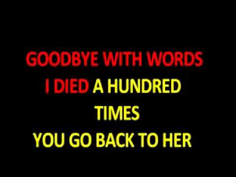 Amy Winehouse Back to black- Karaoke___