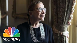 Justice Ruth Bader Ginsburg Lies In Repose At Supreme Court | NBC News