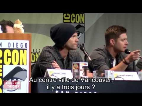 Supernatural Comic Con 2015 VOSTFR