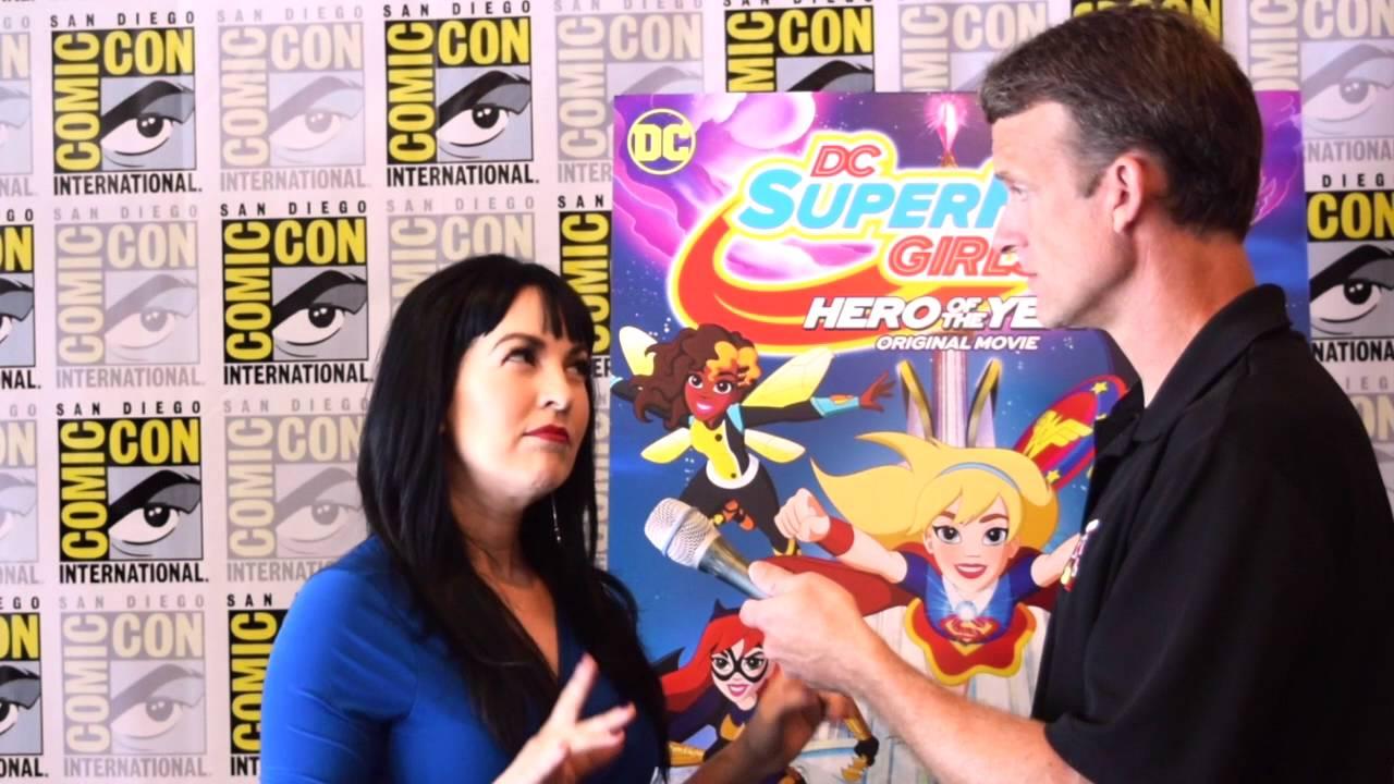 Grey Griffin (Wonder Woman) interview for DC Super Hero Girls - YouTube