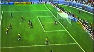 Brazil vs France World Cup 1986 -  Platini Goal