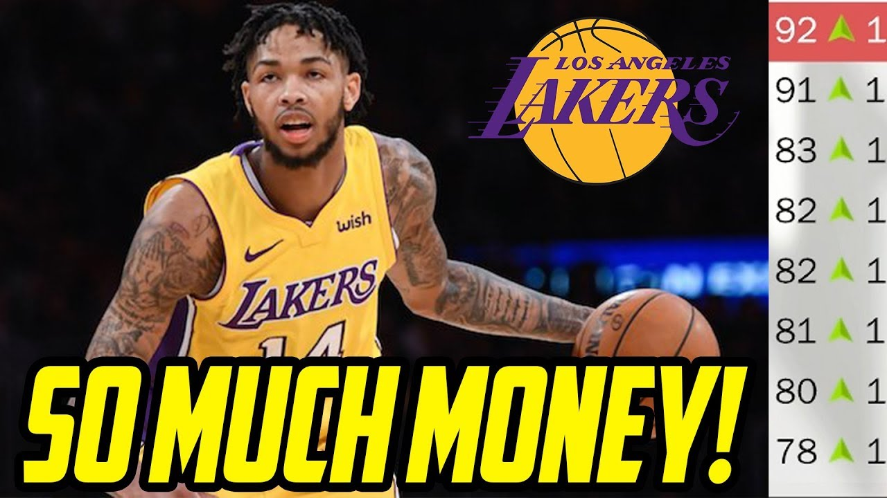 Unlimited Cap Space Rebuilding The New Look Lakers Nba 2k18