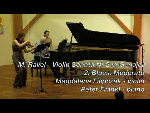 Peter Frankl/Magdalena Filipczak | Ravel - Blues