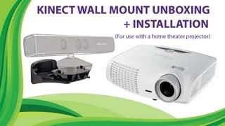 XBOX360 Kinect Wall Mounting