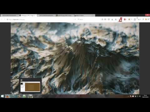 Worldmachine + Octane + After effects tutorial