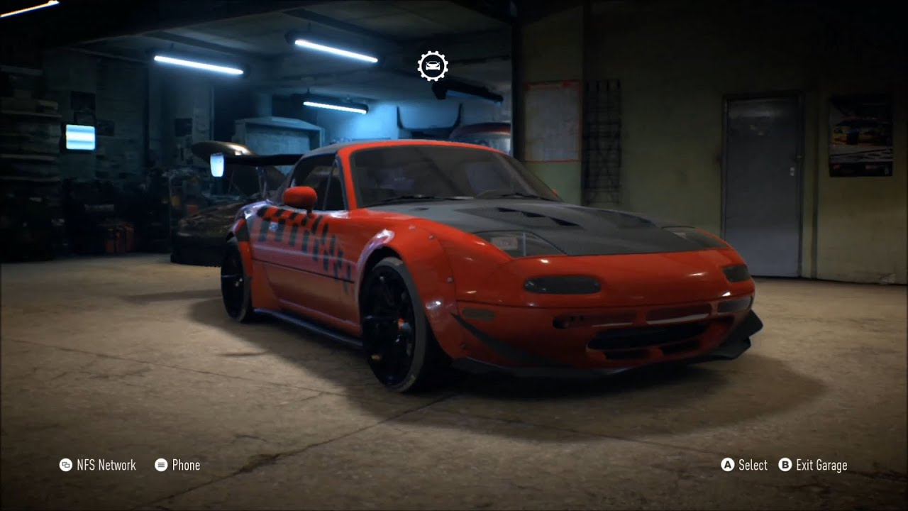 need for speed 2015 - mazda mx-5 1996 - customize car | tuning