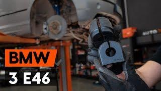 Como substituir casquilhos da barra estabilizadora dianteira noBMW 3 (E46) [TUTORIAL AUTODOC]