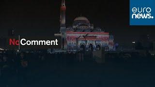 Sharjah Light Festival illuminates iconic buildings