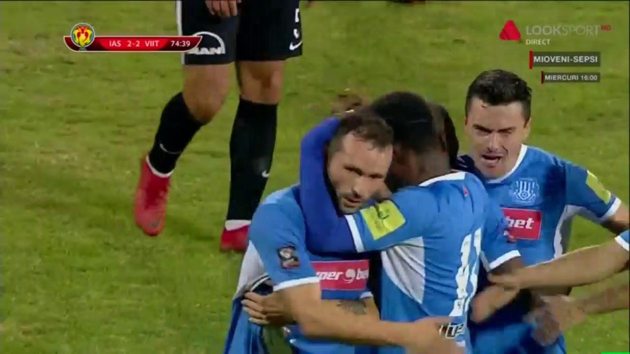 Poli Iasi - Viitorul: Frasinescu egaleaza in minutul 75 / Cupa Romaniei Optimi