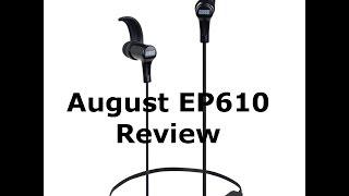 Best cheap bluetooth headphones - August ep610 Review