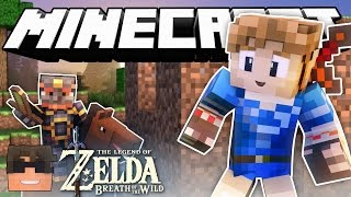 Minecraft Cops N Robbers! ZELDA BREATH OF THE WILD in Minecraft! (Minecraft Cops N Robbers Roleplay)