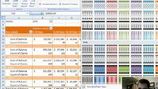 Excel Video 12 Pivot Table Design Tricks