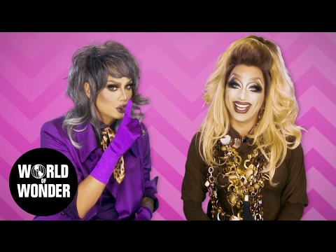 "FASHION PHOTO RUVIEW: Raja & Bianca on RuPaul's Drag Race Season 9 Episode 8 ""RuPaul Roast"""