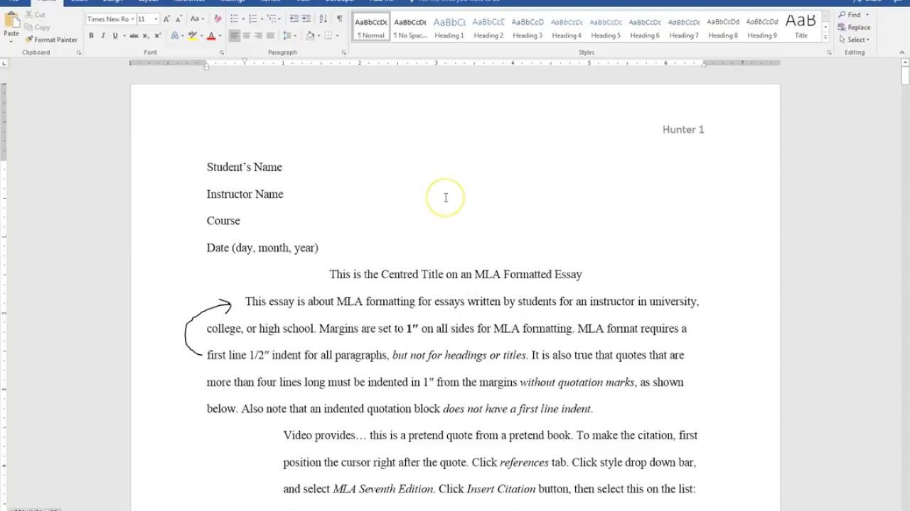 Essay in environment