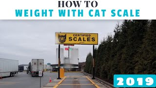 How to weight your truck and trailer on CAT Scales and what it means