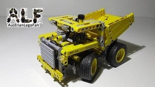 Lego Technic 42035 Mining Truck - Lego Speed Build Review