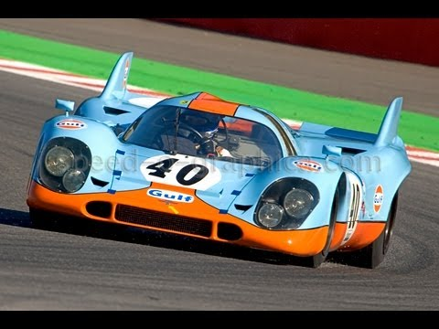 Porsche 917, the Ultimate Racecar ever! Warm-up, and Crash!!