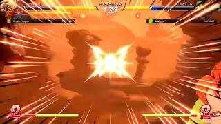 Coming Back to Dragon Ball FighterZ For a Day and This What Happens (Spamming B*TCH)(Almost Rage)