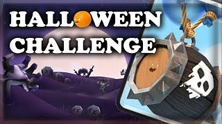 Skeleton Barrel Halloween Challenge! | Clash Royale