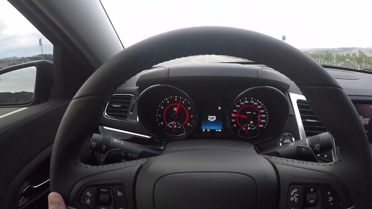 Chevy 0 60 >> 2017 Chevy Ss Stock 0 60 Speedo