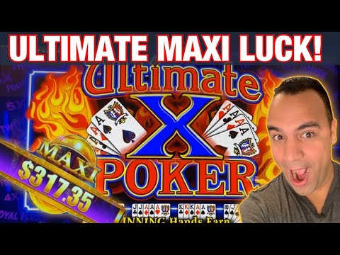 ** BONUS VIDEO ** Ultimate X Video Poker $15 Bets ♦️ ♠️ ♥️ | Treasure Ball MAXI!! | 💰🎉👑🙌