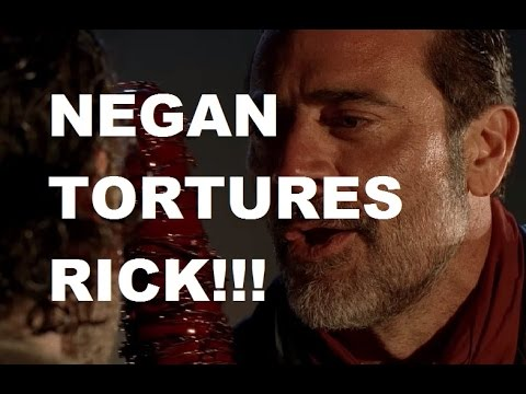 The Walking Dead Season 7 - NEGAN TORTURES RICK - NEW IMAGES!!!