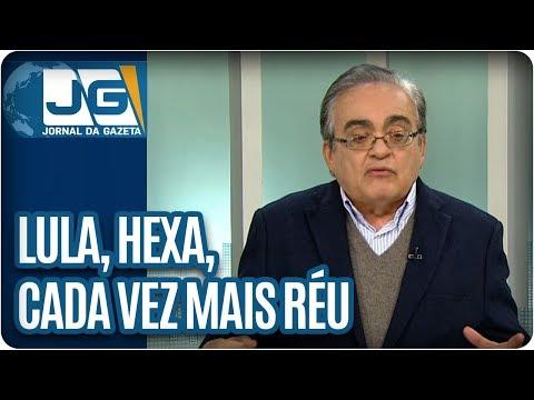 José Nêumanne Pinto / Lula, hexa, cada vez mais réu