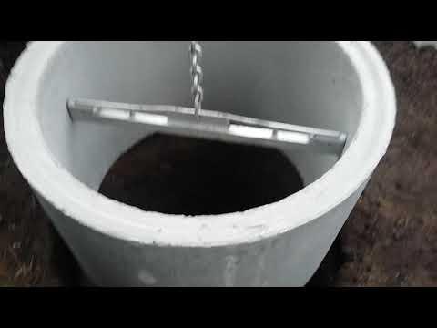 Строим септик из жби колец диаметр 100мм