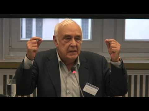 Keynote by Prof. Robert Skidelsky at the conference