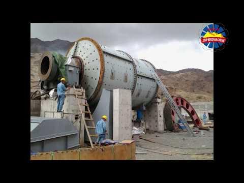 Installation site of gold mine project in eritrea