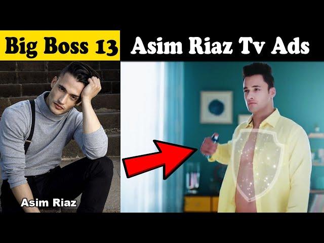 Bigg Boss 13   Asim Riaz ads & commercials   bigg boss 13 celebrities tv ads & commercials